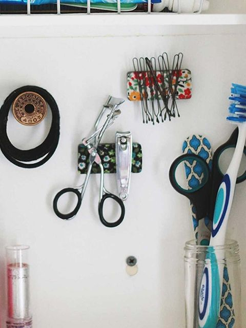 Mason jar, Scissors, Room, Shelf, Turquoise, Toothbrush, Design, Furniture, Tableware, Drinkware,