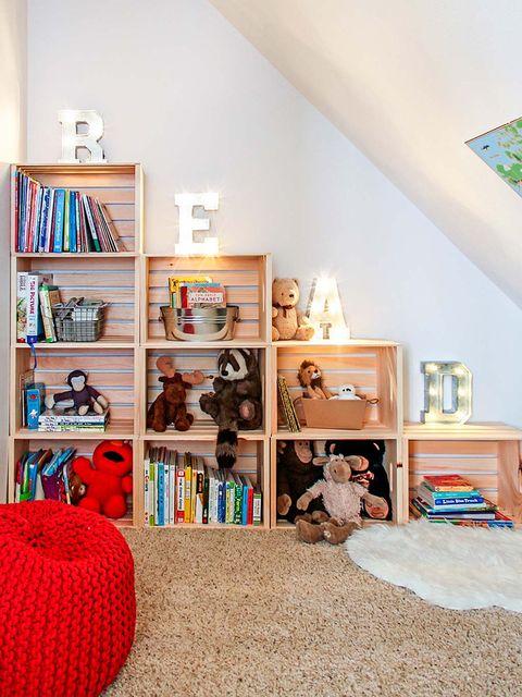 Ideas para ordenar los juguetes de los niños