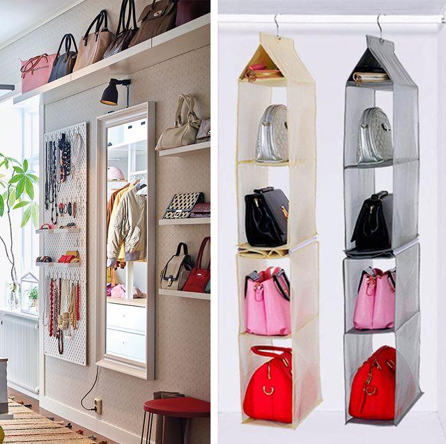 Ideas para ordenar los bolsos