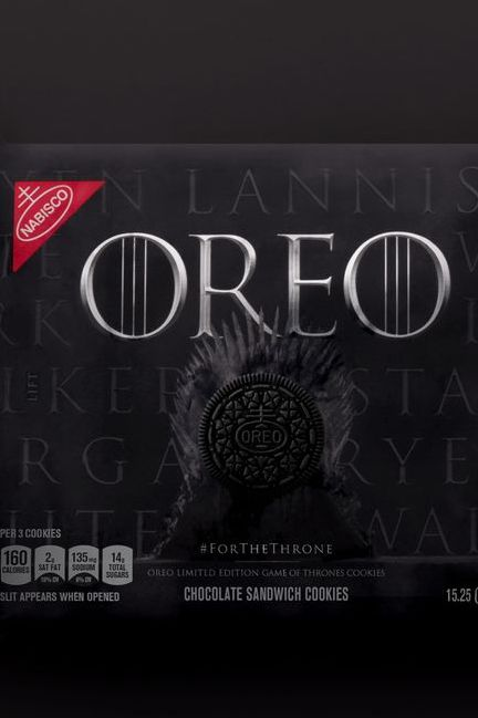 Game Of Thrones Oreos Are Coming Before The Final Season