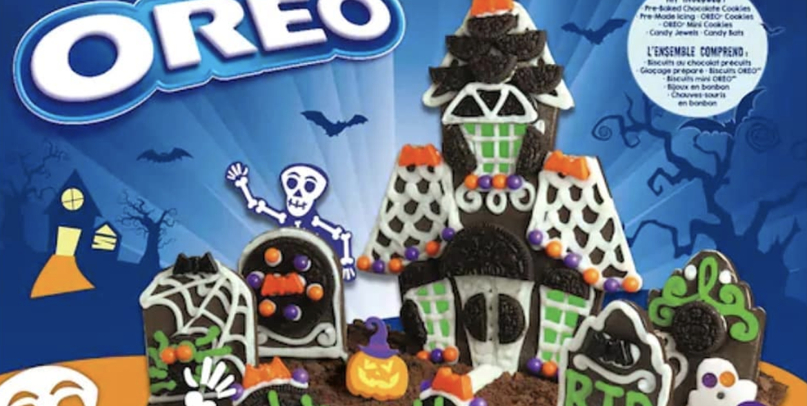 Oreo Has a New Spooky Graveyard Chocolate Cookie Kit That You Can Build This Halloween