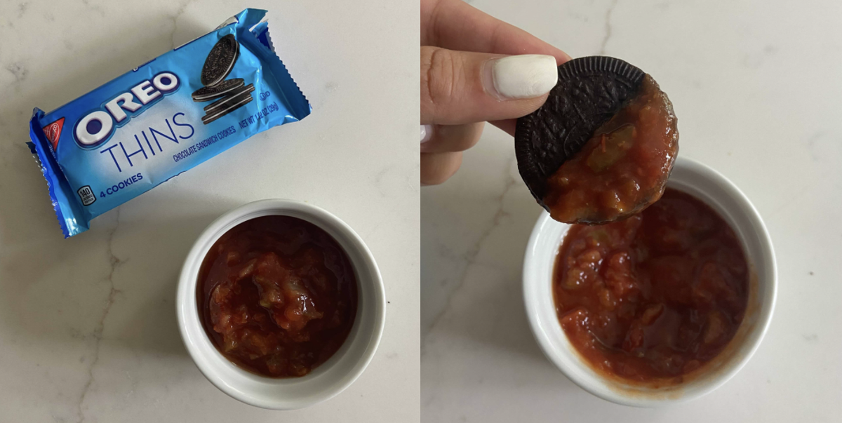 I Tried Salsa On Oreos So You Don't Have To And These Are My Honest Thoughts