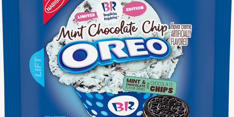 Oreo Just Released A Mint Chocolate Chip Flavor Inspired By Baskin