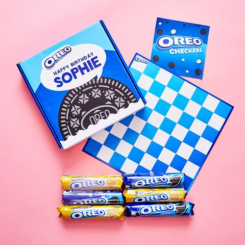 This Personalised Oreo Checkers Game Is The Perfect Gift For Oreo Fanatics