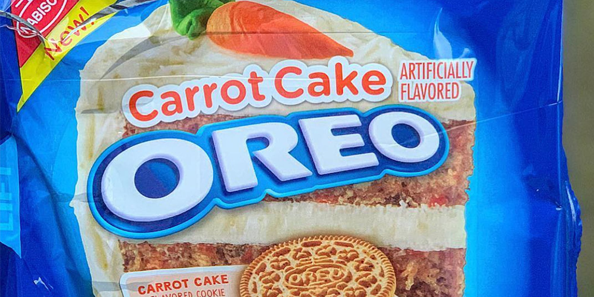 Oreo's Carrot Cake Cookies Are Filled With Cream Cheese Frosting Creme, So There's No Need to Bake