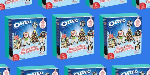 Oreo holiday cookie decorating kit