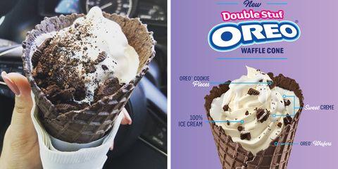 Sonic's New Double Stuf Oreo Waffle