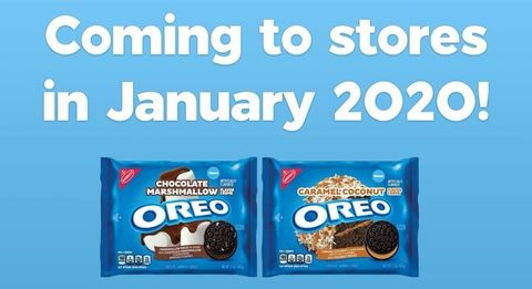New Oreo Flavors 2020.Oreo Announced 2 New Flavors For 2020 Chocolate Marshmallow