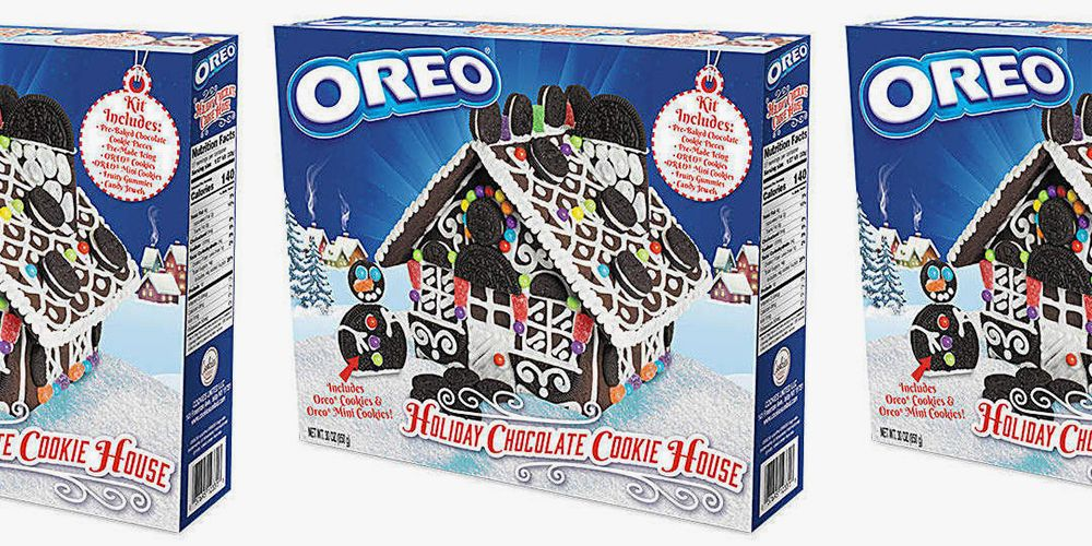 This Oreo Holiday Cookie House Kit Is So Much Better Than The Gingerbread Version
