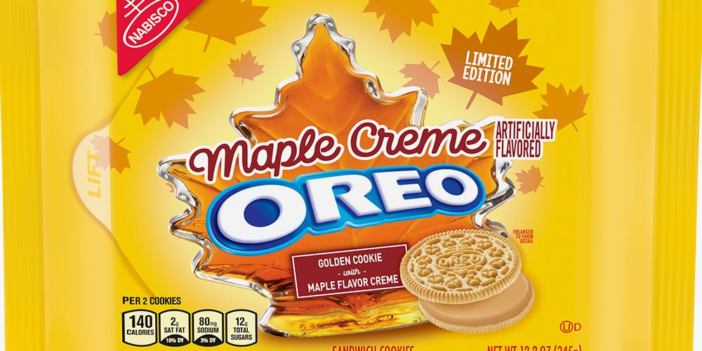 Oreo S New Maple Creme Flavor Is Available Now So You Can