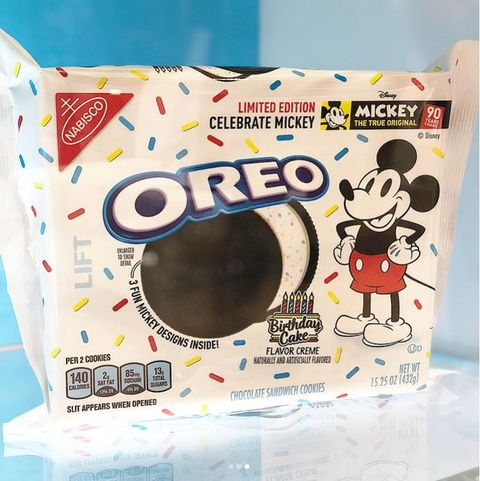 Super Update Oreo Is Dropping Limited Edition Mickey Mouse Cookies Personalised Birthday Cards Petedlily Jamesorg