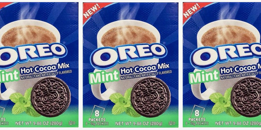 Oreo Mint Hot Cocoa Mix Guarantees a Chocolatey Sip All Winter Long