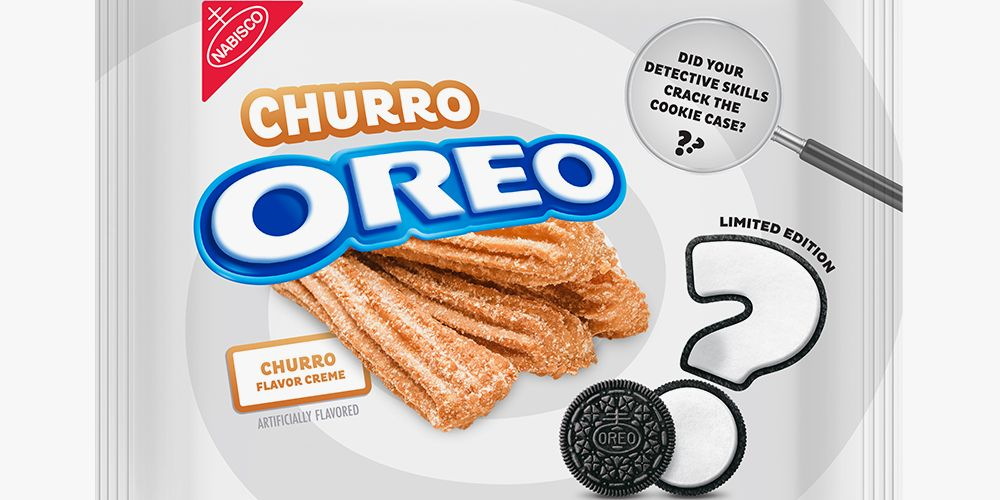 Oreo Just Revealed That Its Mystery Cookie Is Churro-Flavored