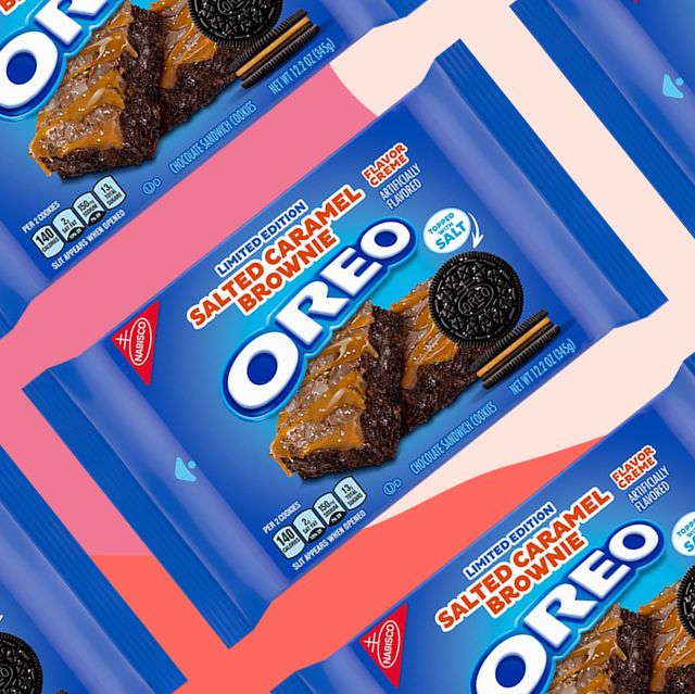 oreo salted brownie flavor limited edition