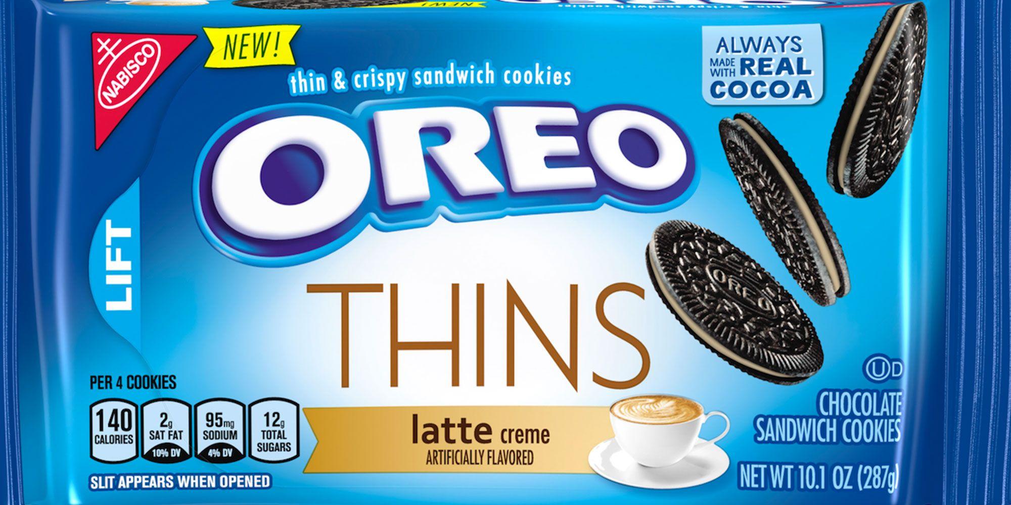 New Oreo Flavors 2020 Oreo Announces Four New Flavors: Thins Latte, Marshmallow Moon
