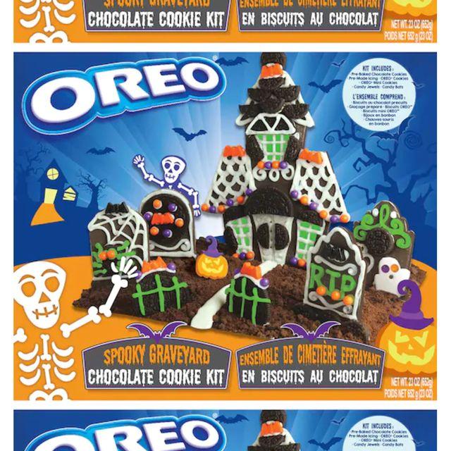 oreo spooky graveyard chocolate cookie kit