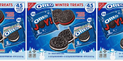 Oreo, Cookies and crackers, Snack, Cookie, Product, Finger food, Baked goods,