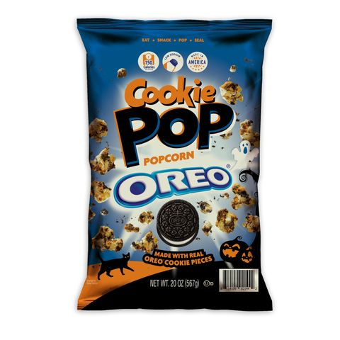 cookie pop oreo orange popcorn