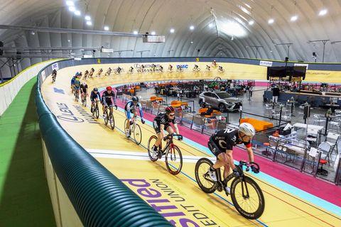 lexus velodrome race action shot