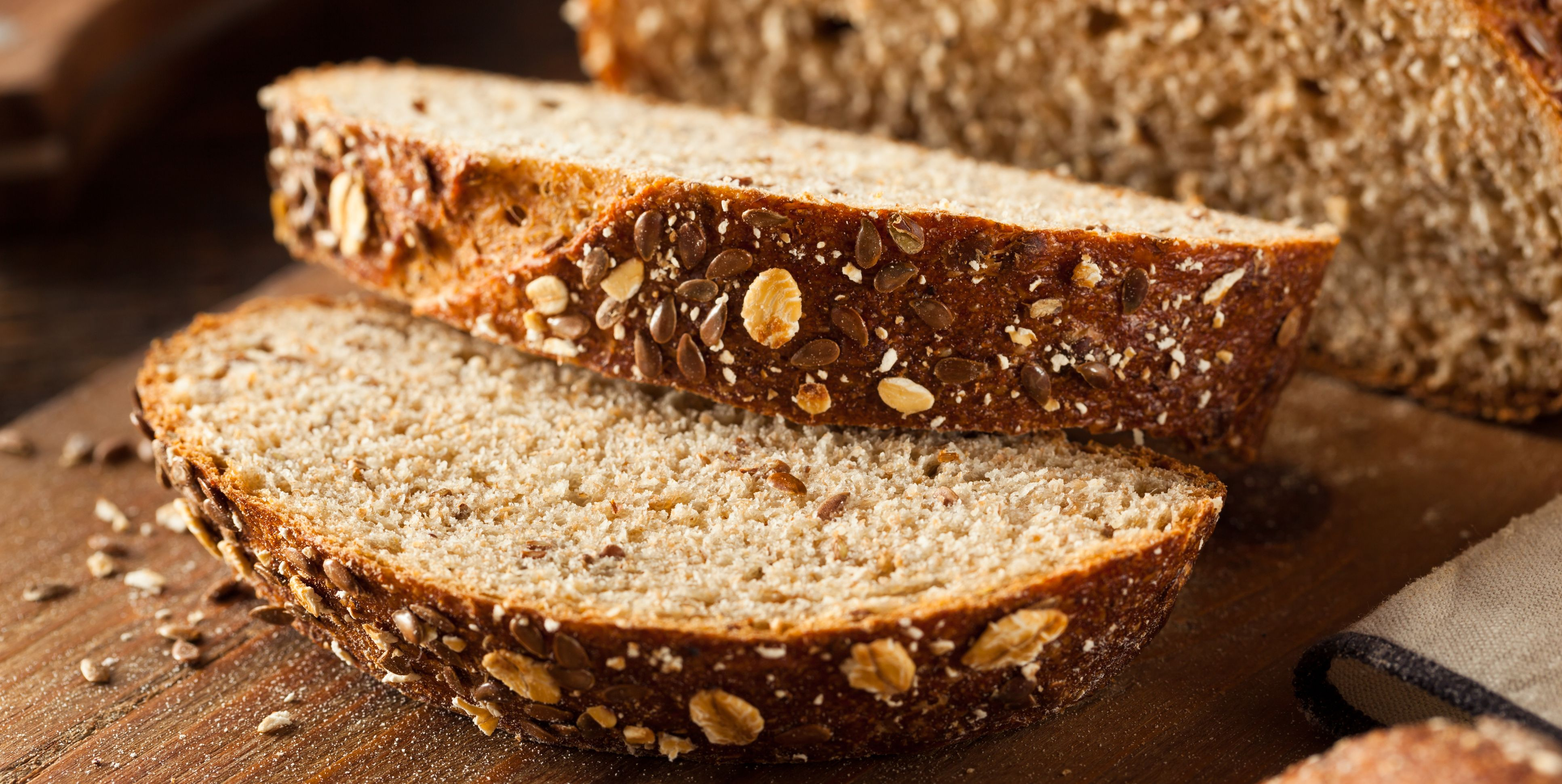 Organic Homemade Whole Wheat Bread