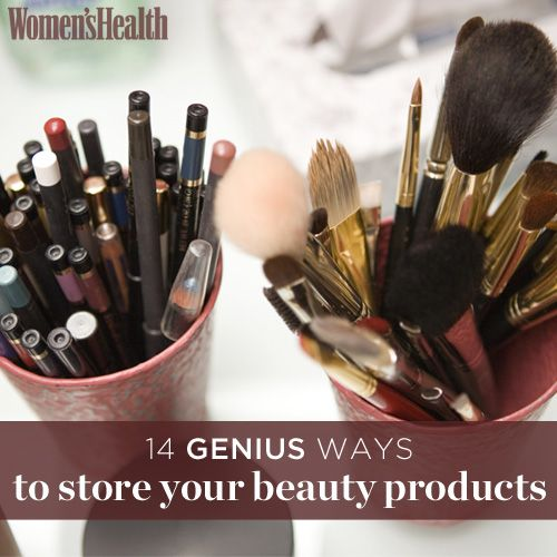14 Genius Ways to Store Your Beauty Products