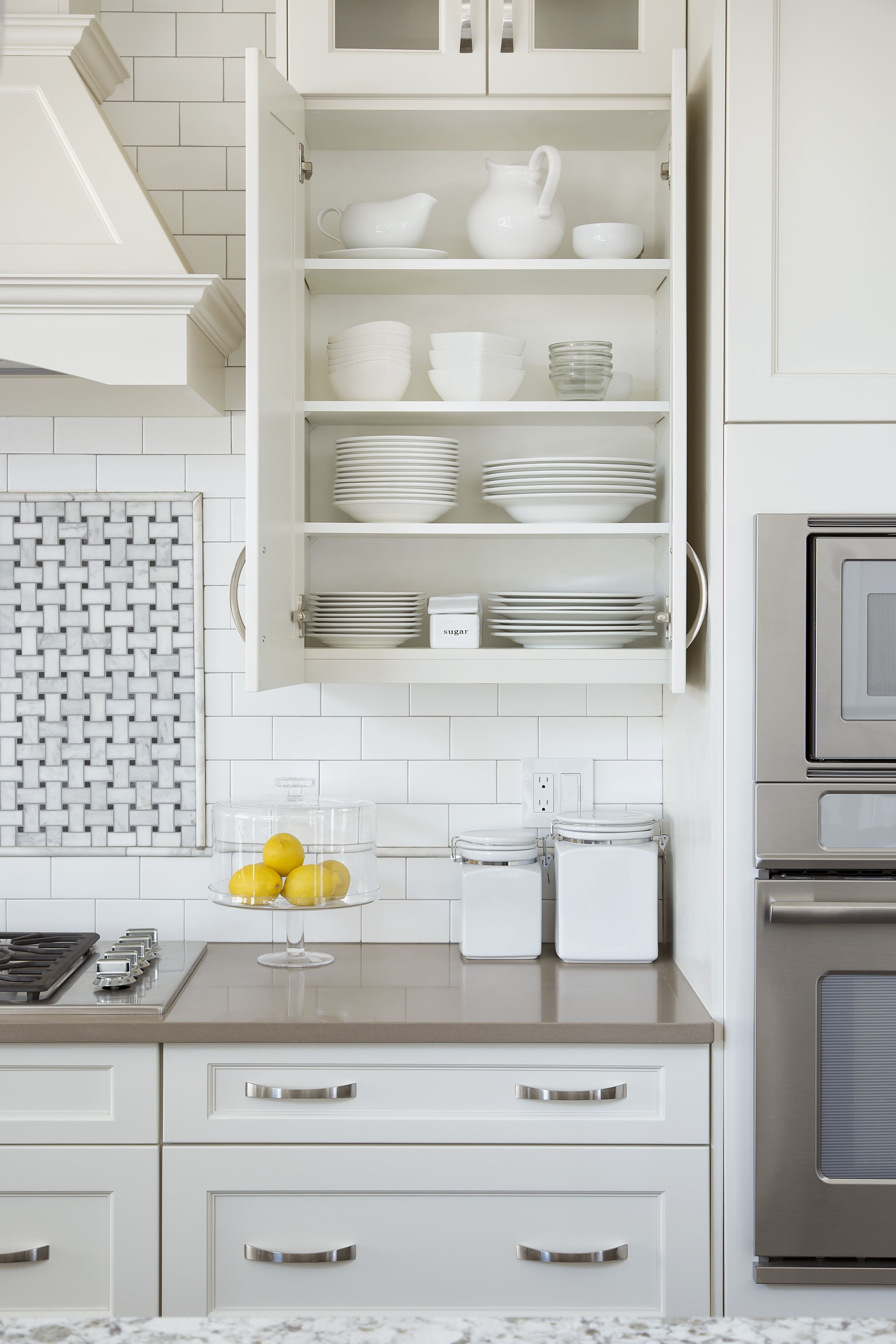 Not So Fast Open Shelves—Upper Cabinets Are Here To Stay
