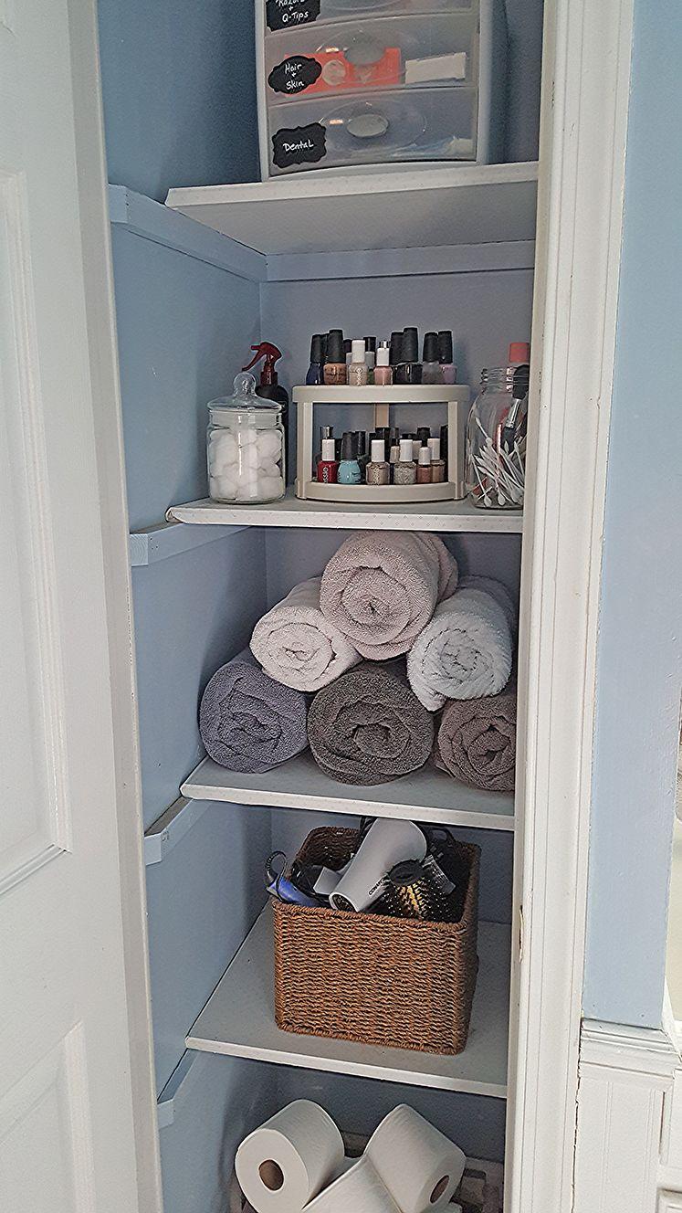 10 Narrow Linen Closet. Image