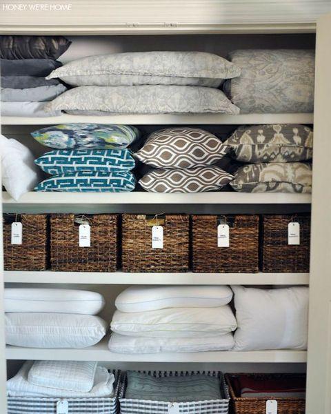 48 Best Linen Closet Organization Tips In 48 How To Organize Custom Bathroom Closet Organization Ideas
