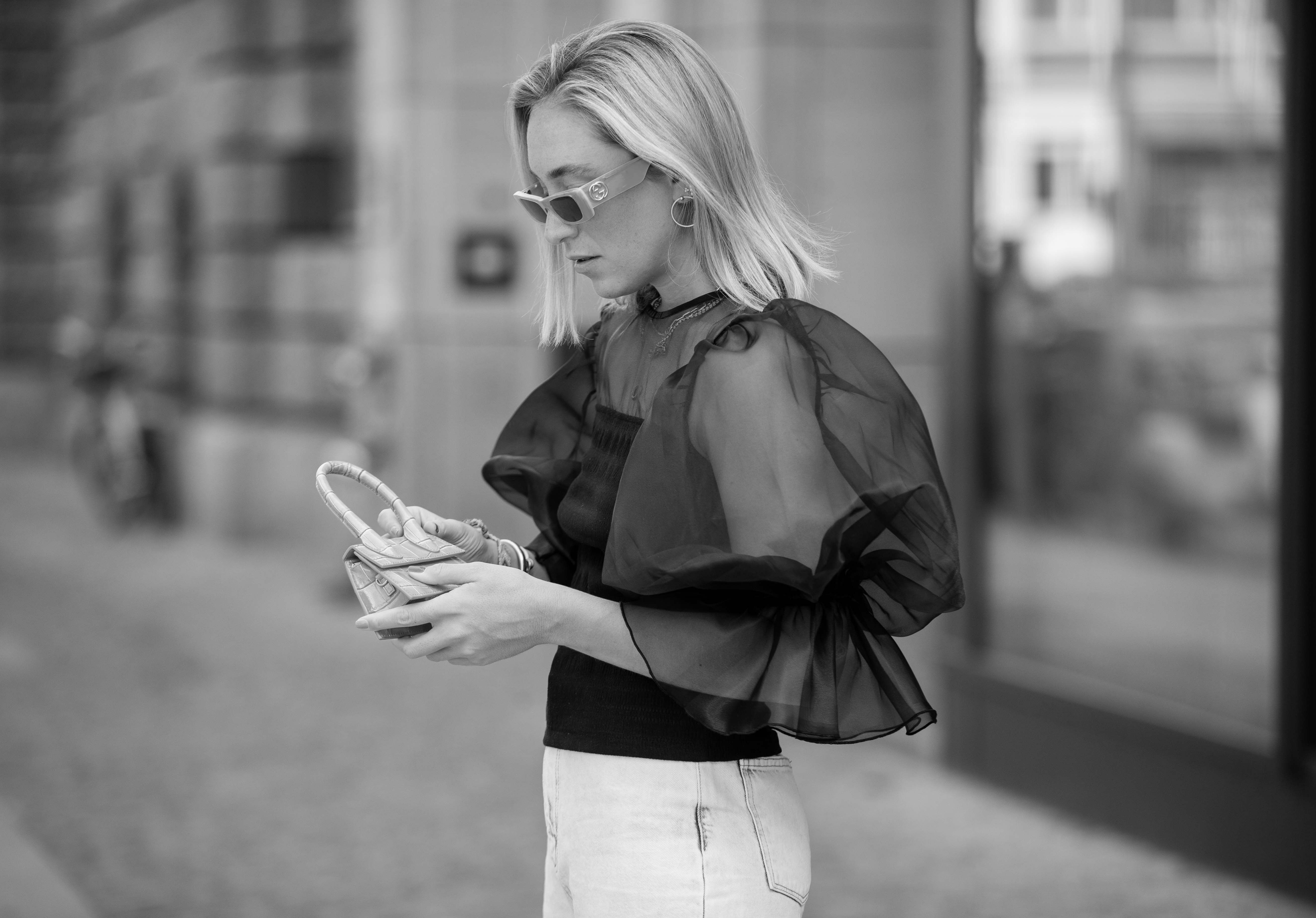 10 of the best organza blouses and sheer shirts