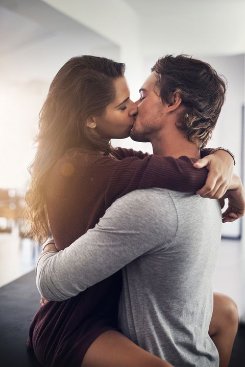 Kiss, Elbow, Comfort, Romance, Love, Interaction, Black hair, Gesture, Hug, Honeymoon,