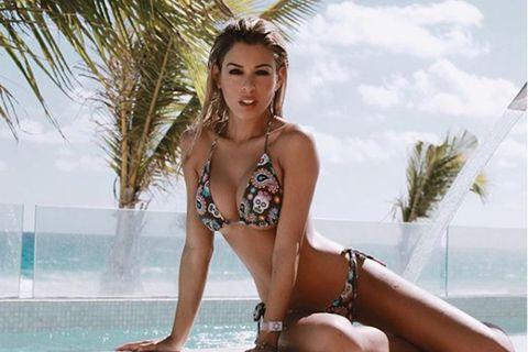 Oriana Marzoli en bikini