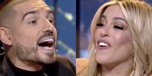 Fabio y Oriana Marzoli se pelean en Supervivientes
