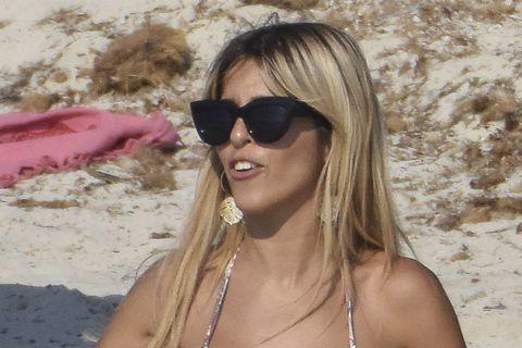 Oriana Marzoli de vacaciones en Ibiza. 2018