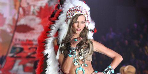 Karlie Kloss Victoria's Secret Native American