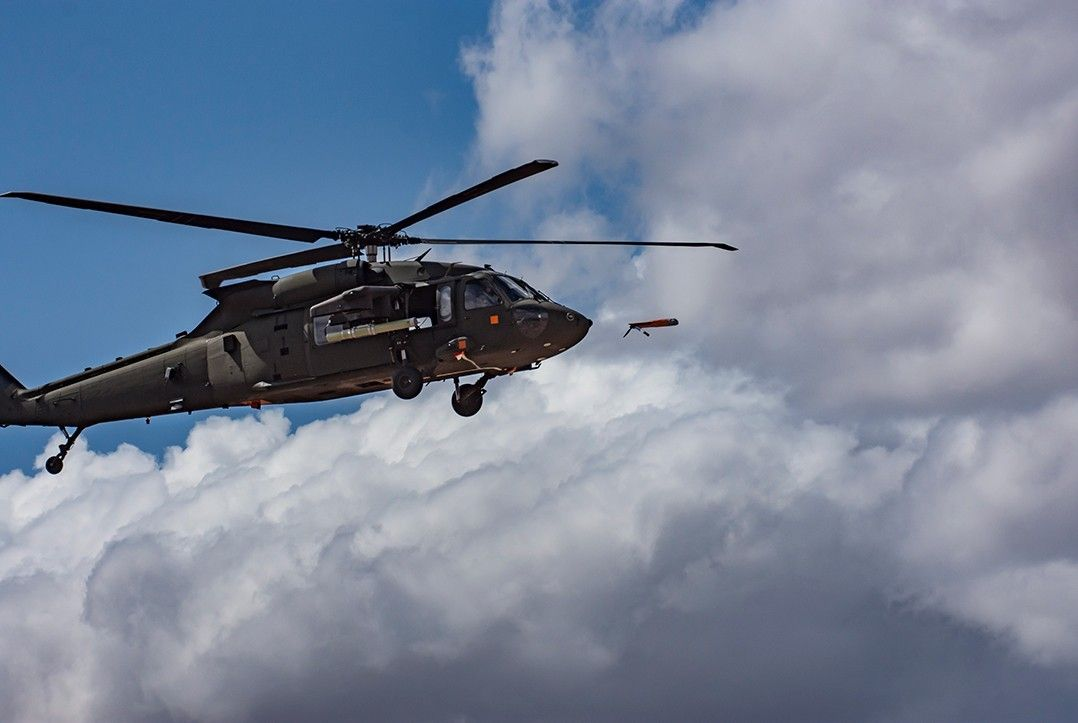 Black Hawk Helicopters Can Now Launch Drones From Midair