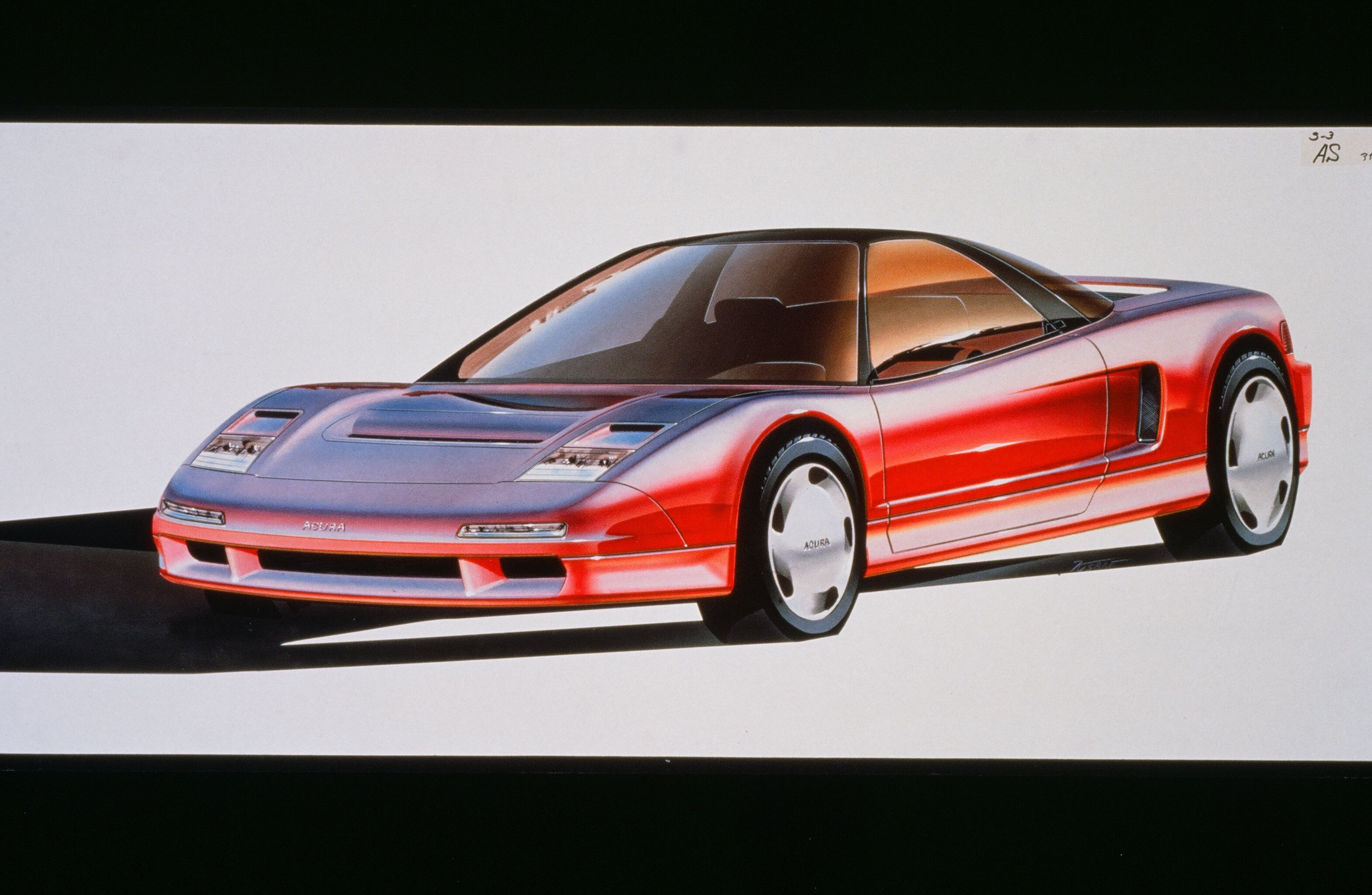 Check Out These Excellent Acura Nsx Concept Drawings