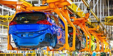 Chevrolet Bolt EV assembly