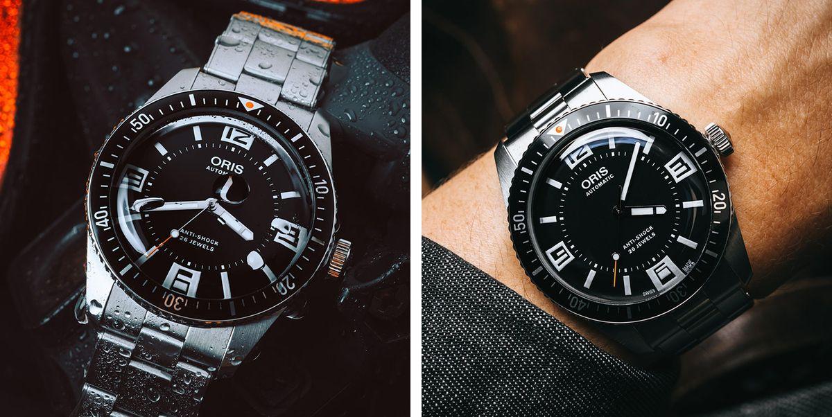 Oris's Retro Dive Watch Is Looking Pretty Modern