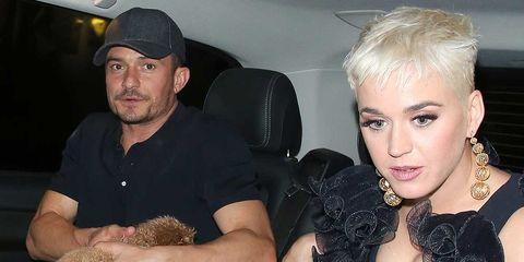 Orlando Bloom y Katy Perry en Londres