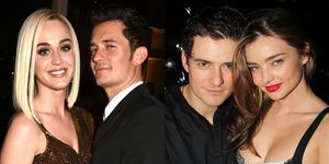 Orlando Bloom With Katy Perry and Miranda Kerr