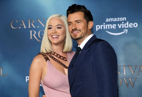 orlando bloom and katy perry in august 2019