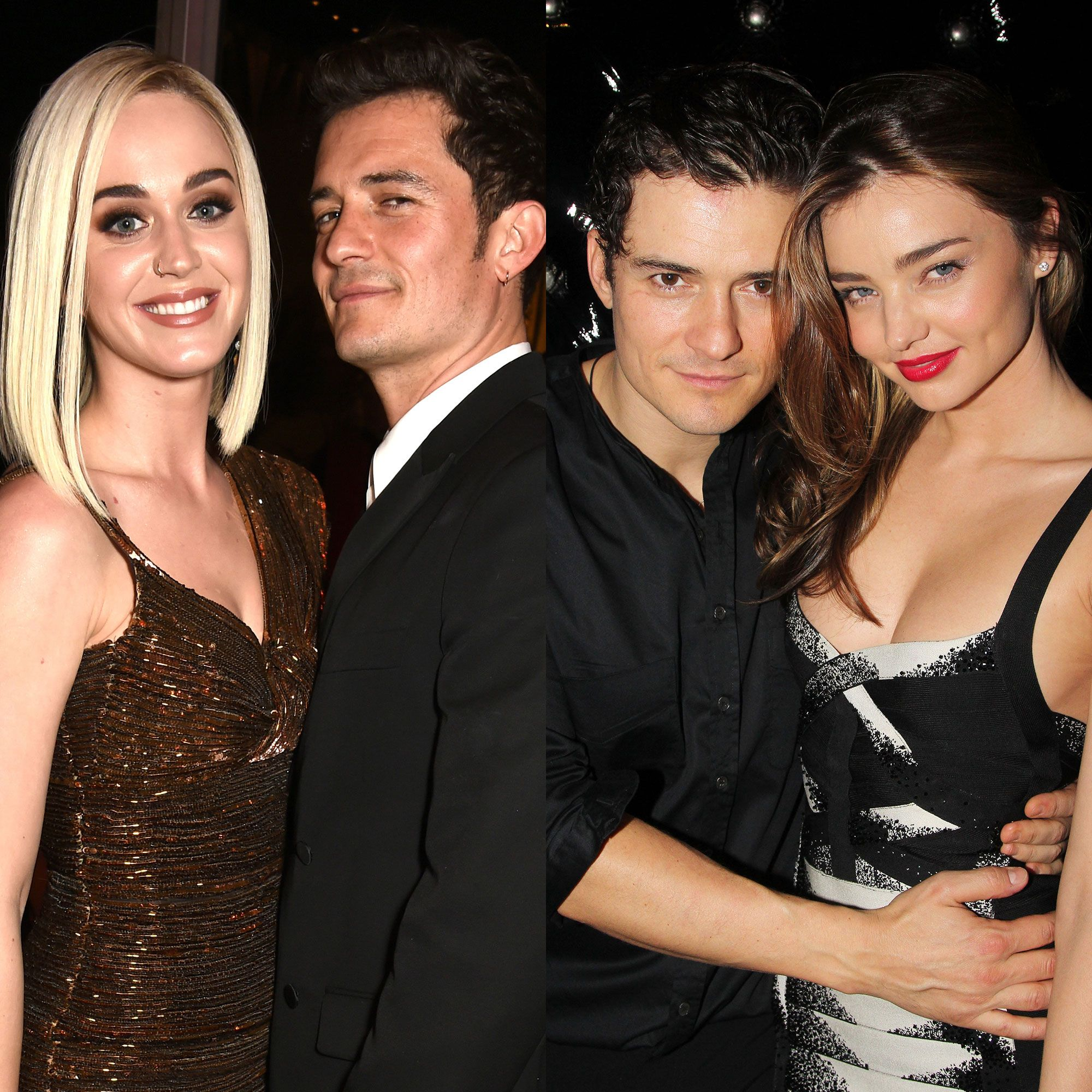 Orlando Bloom Gave Katy Perry and His Ex Miranda Kerr Nearly Identical Flower Engagement Rings