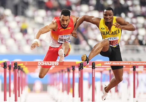 Orlando Ortega, Mundial de Atletismo, Doha 2019