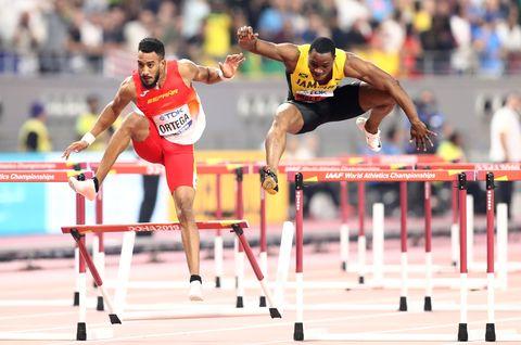 Orlando Ortega, 110 metros vallas, Mundial de Doha 2019