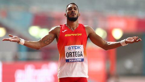 orlando ortega en el mundial de atletismo de doha 2019