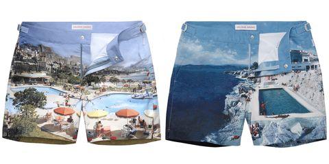 Clothing, board short, Shorts, Denim, Jeans, Trunks, Textile, Pocket,