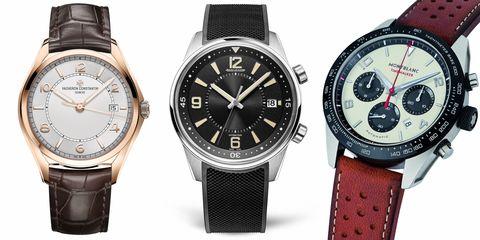 Watch, Analog watch, Watch accessory, Fashion accessory, Strap, Jewellery, Brand, Material property, Hardware accessory, Glass,