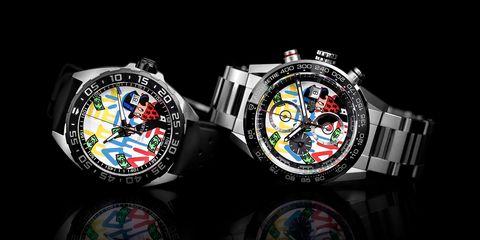 Analog watch, Watch, Fashion accessory, Watch accessory, Brand, Jewellery, Glass, Games,