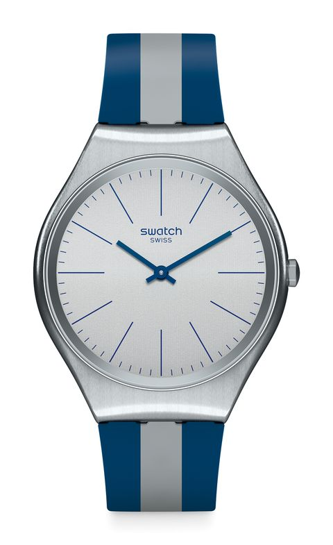 Watch, Analog watch, Blue, Watch accessory, Strap, Product, Fashion accessory, Jewellery, Material property, Brand,