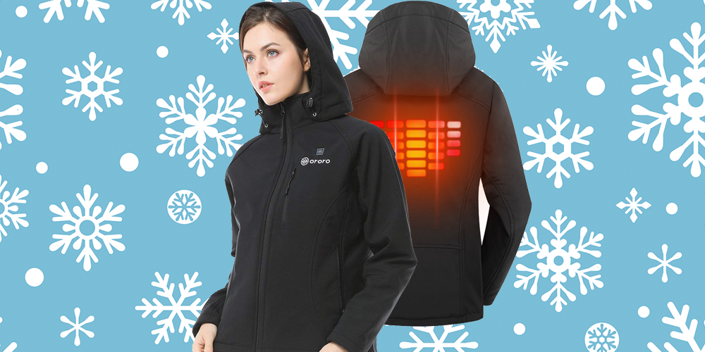 This Ororo Jacket Comes with a Built-in Heater to Keep You Extra Warm